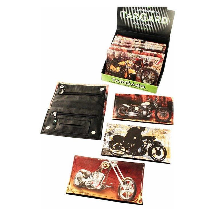 1T. Display «TG» with 12 assorted tobacco bags «Motorbike»