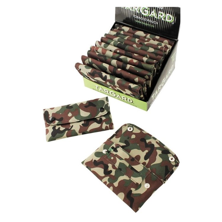 1T. Display «TG» with 12 fabric tobacco bags «Camouflage» design