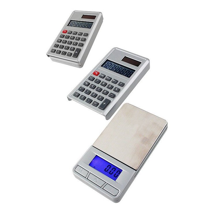 1T. Digital pocket scale with calculator (0,01 to 100 grs.)