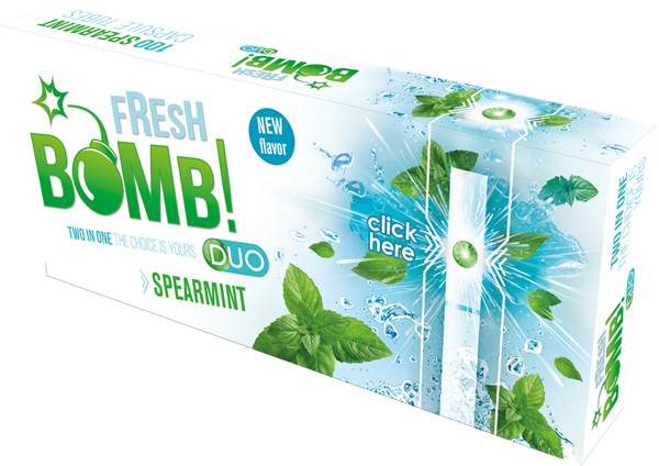 FRESH BOMB SPEARMINT CIGARETTE TUBES