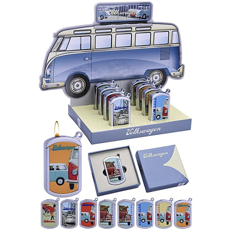 Display with 8 pcs lighters «VW»