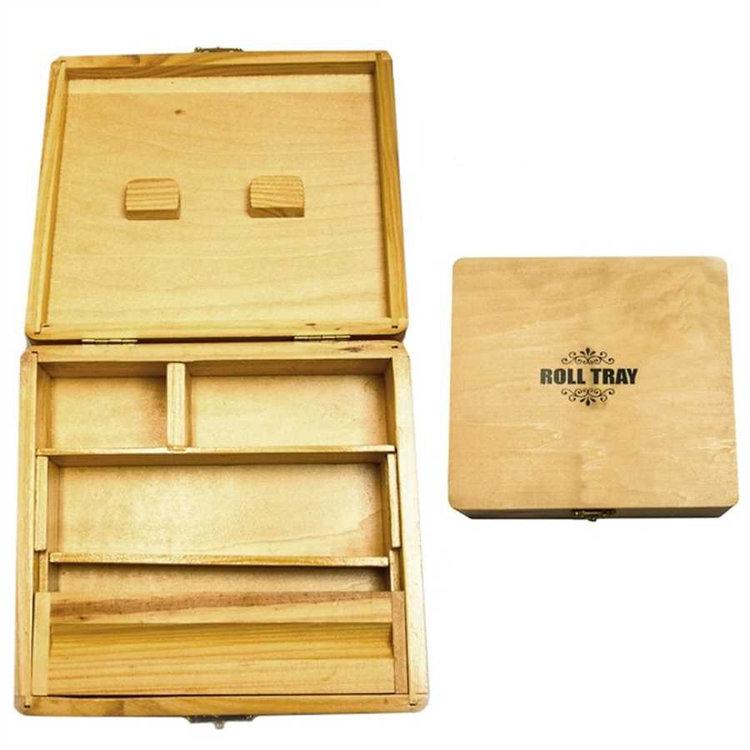 Big Wooden Roll Tray