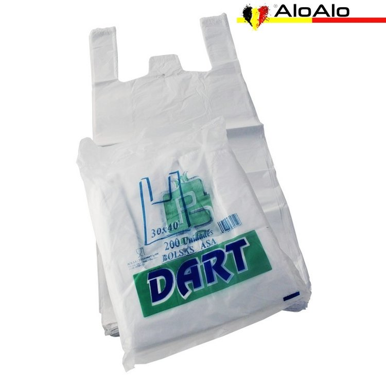 Pack with 200 shirt bag 30 x 40 cms.