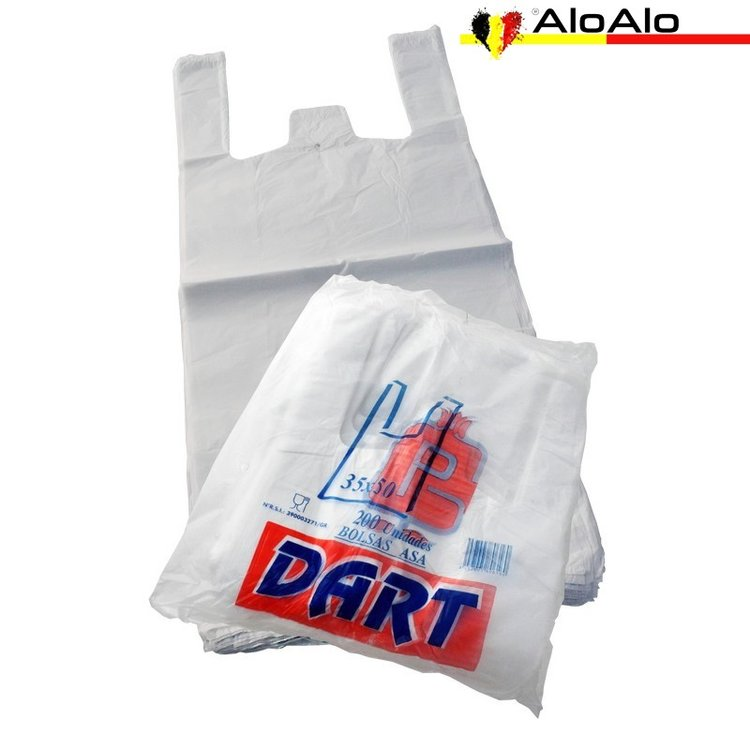 Pack with 200 shirt bag 35 x 50 cms.