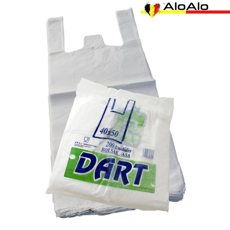 Pack with 200 shirt bag 40 x 50 cms.