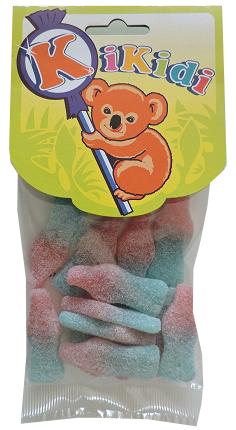 Bubble Gum Bottles 100 Gr.