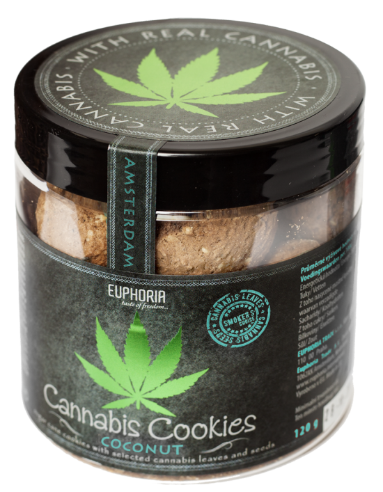 Cannabis Cookies Coconut 120 Gr.