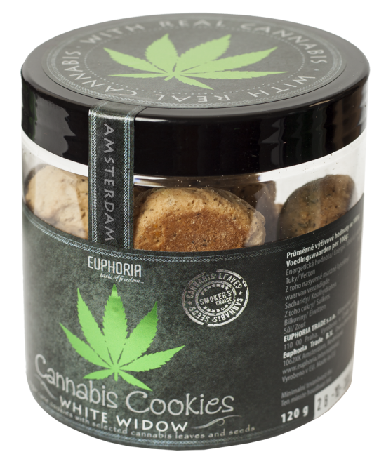 Cannabis Cookies White Widow 120 Gr.