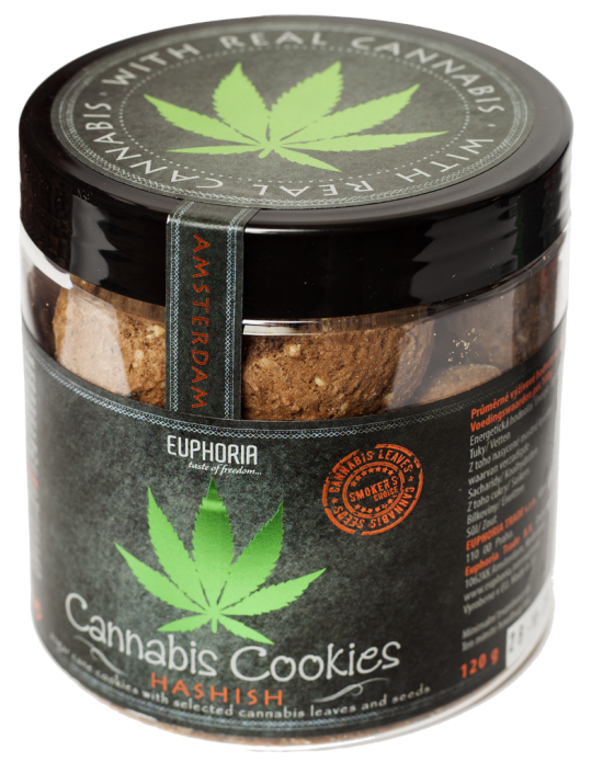 Cannabis Cookies Hashish 120 Gr.