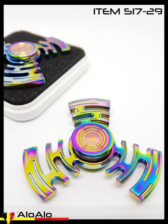 Aluminium Hand Spinner Rainbow 29