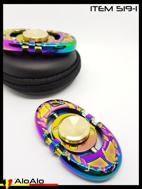 Aluminium Hand Spinner Rainbow 01