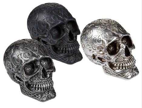 Mystic Ornament Skull money box