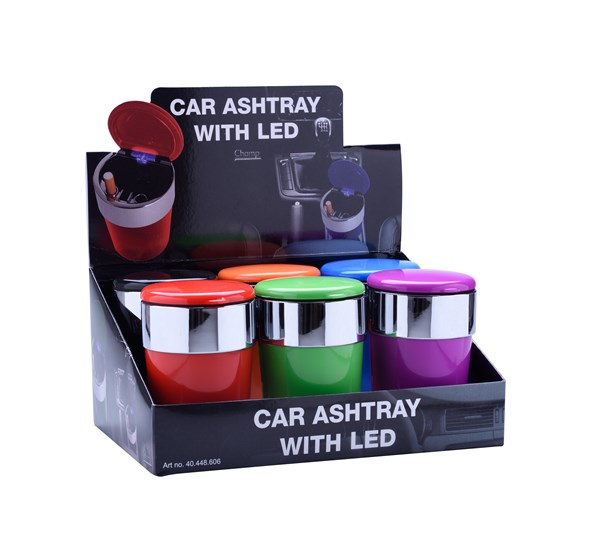 Champ car ashtray color with led