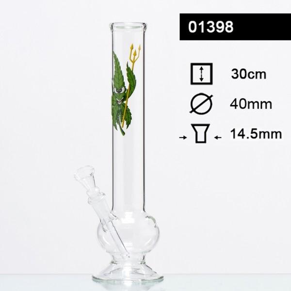 Cannaheroes glass bong cannadevil
