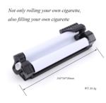 2 in 1 custom injector tobacco + rolling machine