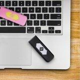 USB RECHARGEABLE CIGARETTE LIGHTER 8 COLORS_6