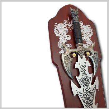 Metalen decoratie zwaard