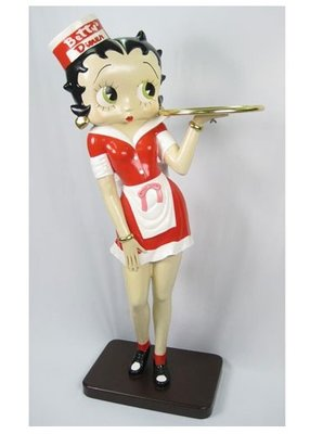Betty Boop Dinner Waitress (5FT)