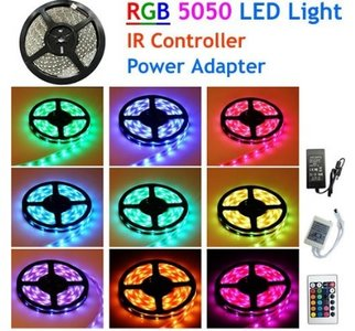 LED STRIP SET RGB 5 METER