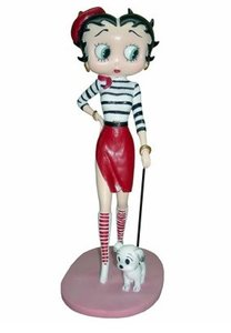 Betty Boop French With Pudgy