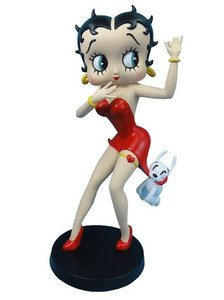 Betty Boop Being chased