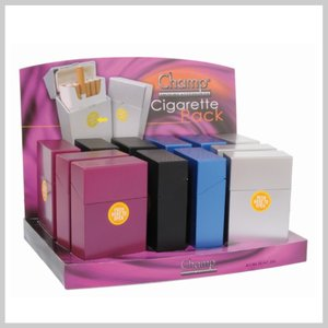 Plastic automatische sigaretbox