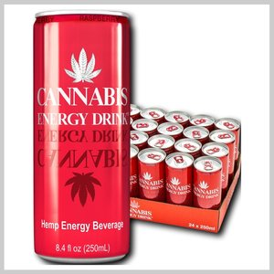 Cannabis energy drink Raspberry