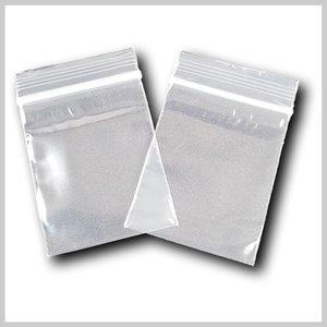 Transparante grip zakjes 60*80mm
