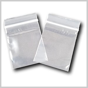Transparante grip zakjes 55*65mm