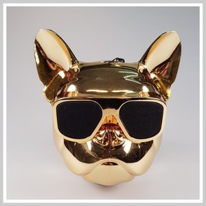 Bulldog bluetooth luidspreker Goud.