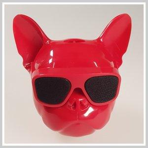 Bulldog bluetooth luidspreker Rood.