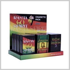 Display Rasta spirit sigaret doosjes