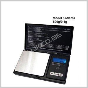 Atlanta digitale weegschaal 600-0.1g zilver