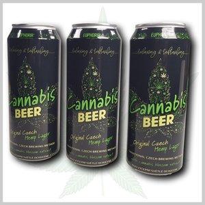 Cannabis bier in blik 0.5L