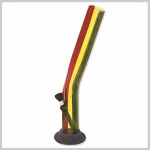 Acryl bong rasta stripe2 22cm