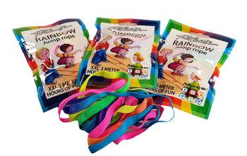 Rainbow jump rope