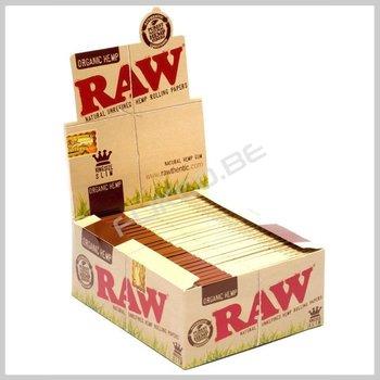 Raw organic hemp KS slim