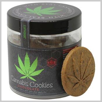 Cannabis chocolade koekjes