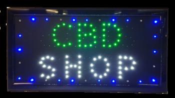 CBD led board 48*25cm
