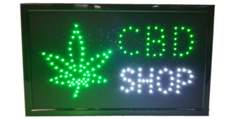 CBD led board 55*34cm Leaf