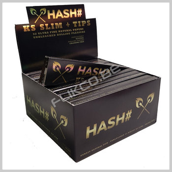 HASH # Kingsize slim papers + filtertips
