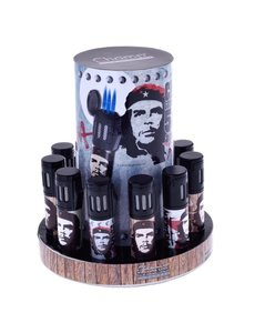 Display 9 Che Guevara 3 blue flame lighters