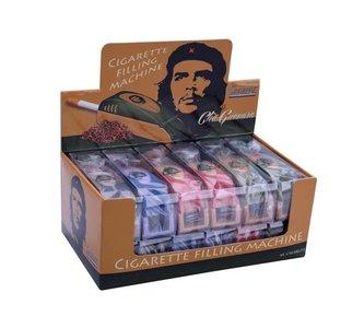 Display 12 Che Guevara plastic tube filling machine
