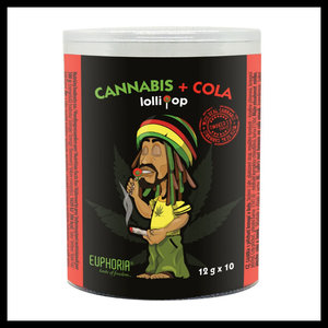 Cannabis Cola lolly's 10*12gr