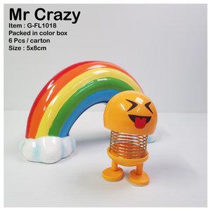 Dashboard smiley Mr Crazy