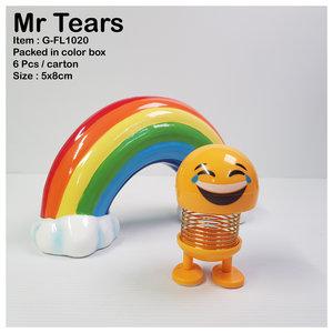 Dashboard smiley Mr Tears